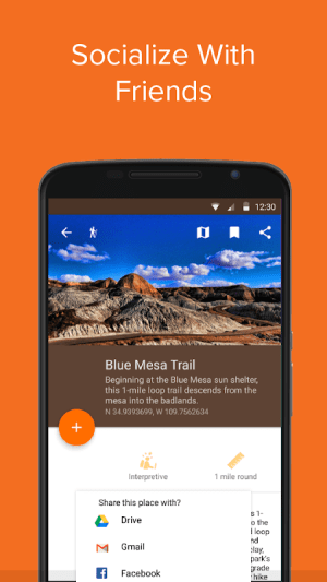 Petrified Forest NP by Chimani 2.3.0 Screen 7