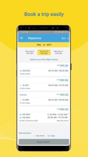 Cebu Pacific 2.63.0 Screen 3