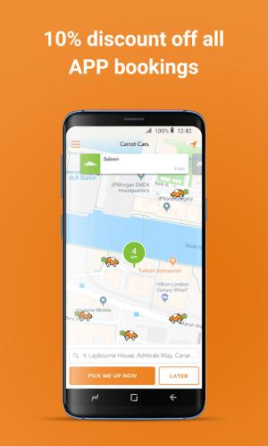 Carrot Cars – London's Minicab 20.4.0 Screen 4