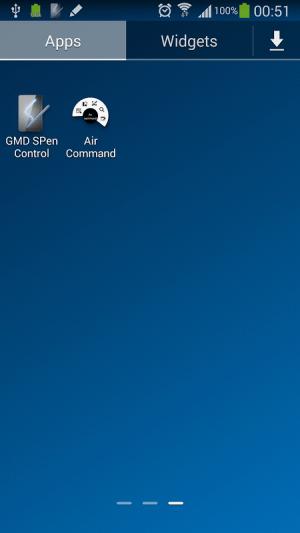 GMD Air Command Shortcut 1.1 Screen 1