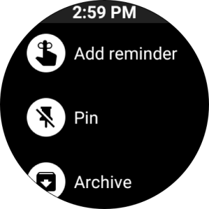 Google Keep - notes and lists 5.20.361.01.30 Screen 4