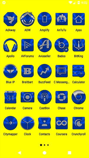 Blue Icon Pack ✨Free✨ 3.8 Screen 12