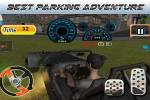 Android Parking Revolution: Super Car Offroad Hilly Driver Screen 3