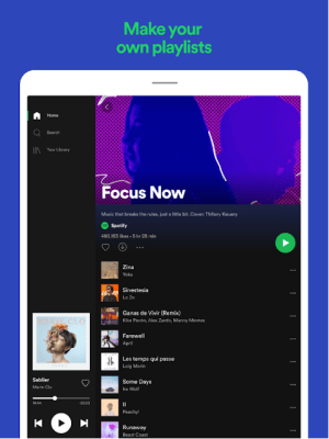 Spotify: Free Music and Podcasts Streaming 8.6.18.720 Screen 1
