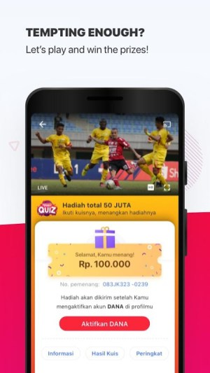 Vidio - Nonton Video, TV & Live Streaming Gratis 4.19.9-e0a0e81 Screen 5