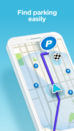 Waze - GPS, Maps, Traffic Alerts & Sat Nav 4.51.0.4 Screen 5