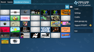 PPSSPP Gold - PSP emulator 1.9.4 Screen 2