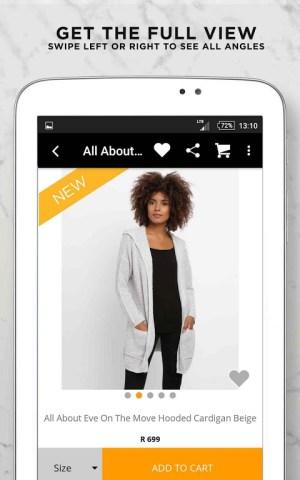 Online Fashion Shopping Zando 1.4.1 Screen 18