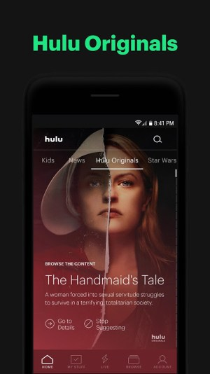 Hulu: Stream TV, Movies & more 3.51.0.307050 Screen 3