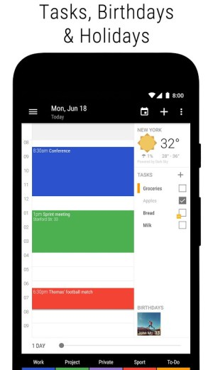 Business Calendar 2 Pro・Agenda, Planner, Organiser 2.37.4 Screen 17
