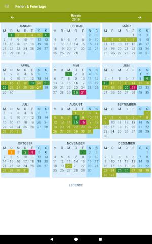 Deutsche Feiertage & Ferien 37.0 Screen 16