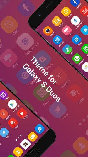 Launcher Themes for Galaxy S Duos 1.0 Screen 5