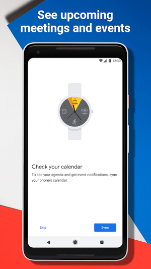 Wear OS by Google Smartwatch (was Android Wear) 2.10.0.188487362 Screen 2