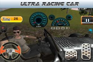 Android Parking Revolution: Super Car Offroad Hilly Driver Screen 4