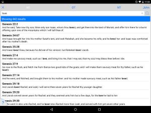 Tecarta Bible 7.16.7 Screen 5
