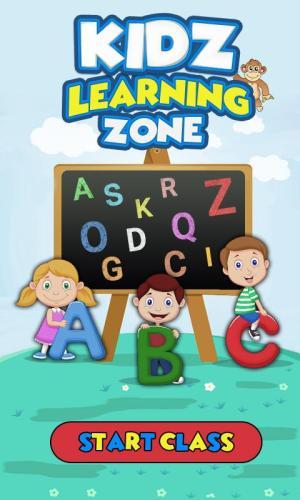 Kidzzz Learning Zone 1.0 Screen 1