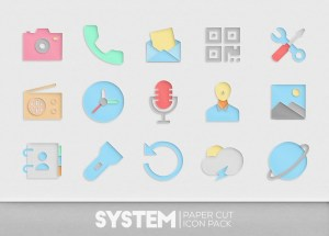 Paper Cut Icon pack New 1.0.13 Screen 1