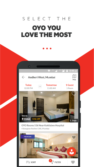 OYO: Compare Hotels, Find Deals & Book Cheap Rooms 4.4.59 Screen 2