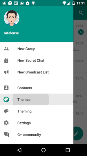 Android Plus Messenger Screen 5