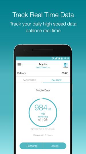 MyJio 3.2.40 Screen 1