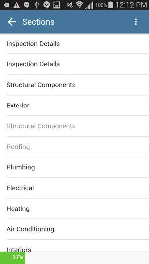 Android Home Inspection Software App Screen 4