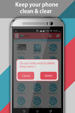 Android File Explorer and File Manager Screen 6