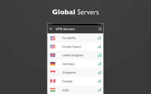 Free unblock VPN& security VPN by VPN Proxy Master 1.4.6 Screen 1