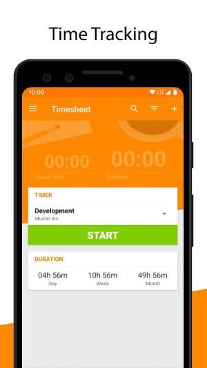 Timesheet - Time Tracker v2.7.6 Screen 9
