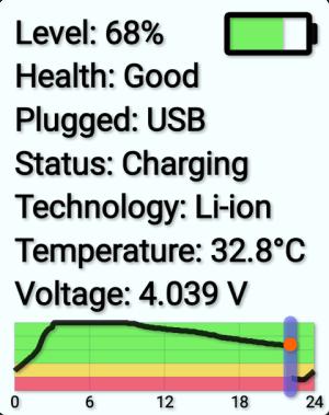 Battery Info Widget 1.05 Screen 4