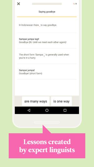 Babbel – Learn Indonesian 20.9.0 Screen 3