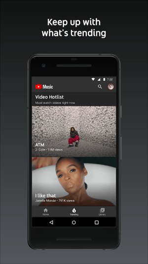 YouTube Music - stream music and play videos 3.23.52 Screen 3