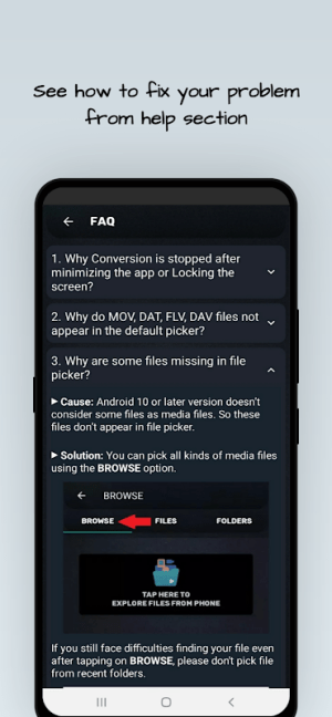 MP4, MP3 Video Audio Cutter, Trimmer & Converter 0.4.1 Screen 7