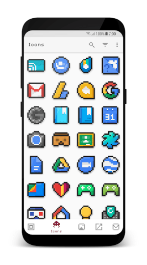 Android PixBit - Pixel Icon Pack Screen 3