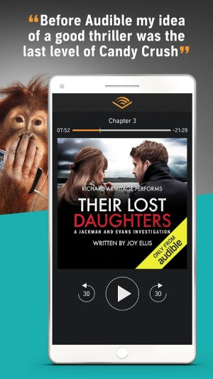 Audiobooks from Audible 2.26.0 Screen 6