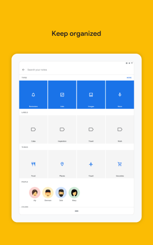 Google Keep - notes and lists 5.20.461.01.40 Screen 12