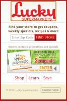 Lucky Supermarkets Screen