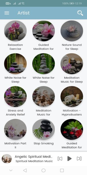Android KeenMind - Free Guided Meditation for Relaxation Screen 2