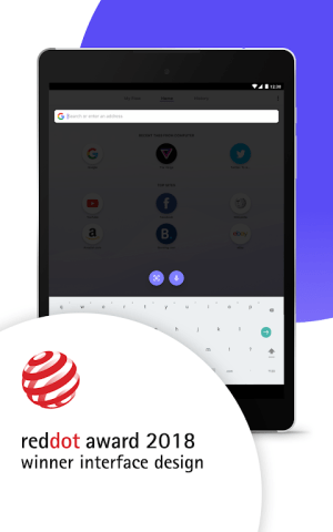 Android Opera Touch: the fast, new web browser Screen 8