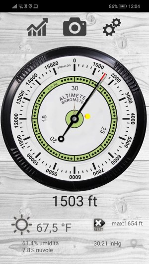 Altimeter free 4.50 Screen 5
