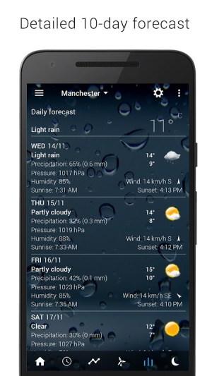 Sense V2 Flip Clock & Weather 5.50.0.1 Screen 3
