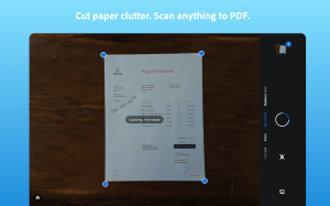 Adobe Scan: PDF Scanner with OCR, PDF Creator 20.12.09-galaxyStore Screen 1