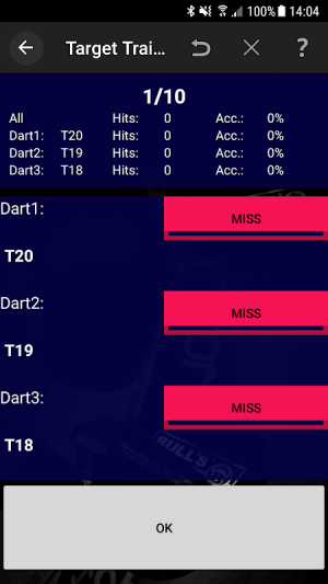 Darts Scoreboard: My Dart Training 2.2.0.3 Screen 13
