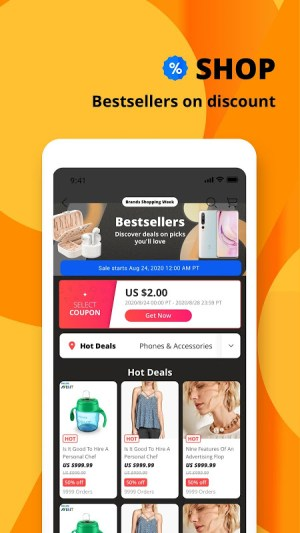 AliExpress - Smarter Shopping, Better Living 8.8.0 Screen 9