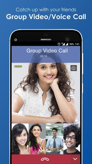 Android JioChat: Free Video Call & SMS Screen 3