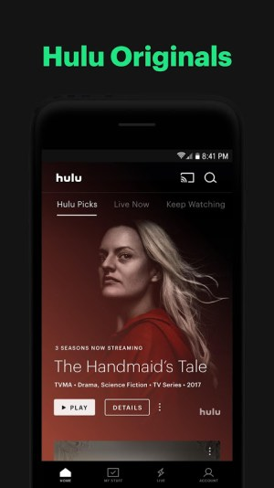 Hulu: Stream TV shows, hit movies, series & more 3.70.99.308500 Screen 9