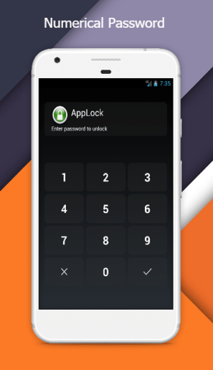 Android AppLock Screen 2