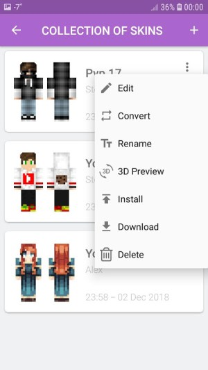 Android Skins MASTER for MINECRAFT (30 000 Skins) + Editor Screen 13