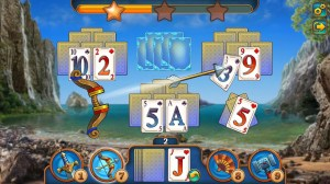 Android Magic Tri Peaks Offline Solitaire Game Screen 5