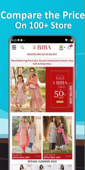 Salwar Suit Online Shopping Flipkart Amazon 1.0 Screen 5