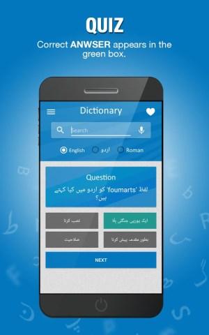 English to Urdu Dictionary 5.2c Screen 9
